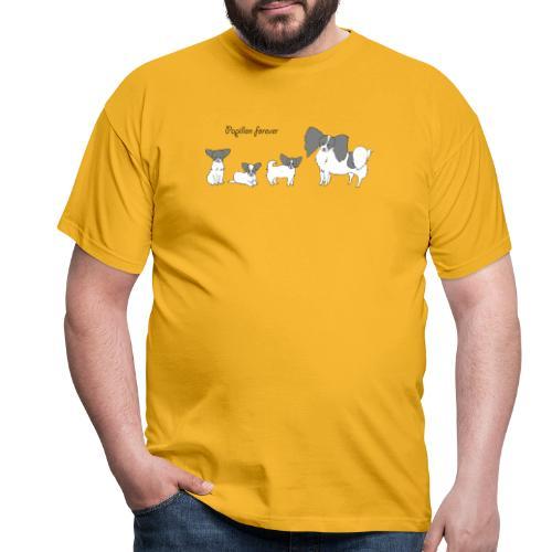 papillon forever - Herre-T-shirt