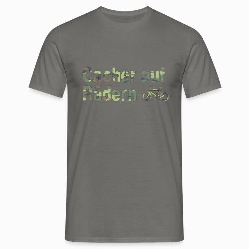 Cacher auf Rädern - Männer T-Shirt