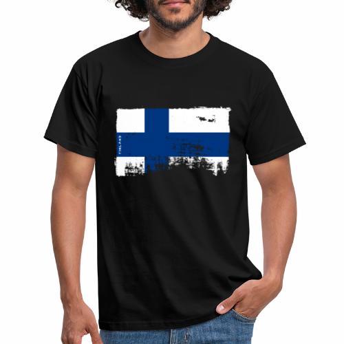 Suomen lippu, Finnish flag T-shirts 151 Products - Miesten t-paita