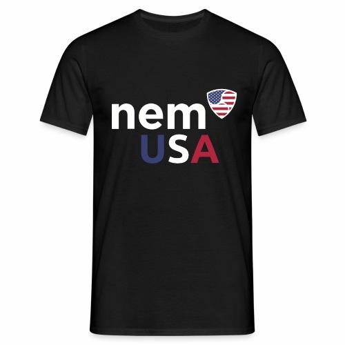NEM USA white - Maglietta da uomo