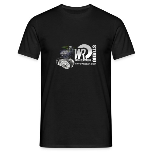 logo wrecordsstudio vs patwangler copie - T-shirt Homme