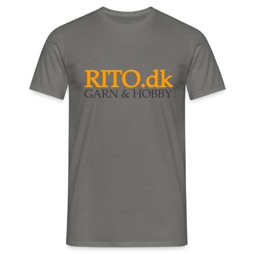 Rito Logo - Herre-T-shirt