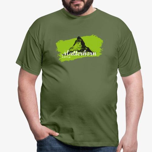 Matterhorn - Matterhorn in green - Men's T-Shirt