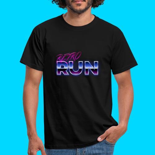Retro Run Merch - Men's T-Shirt