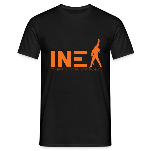 New Logo INEX sans fond orange QUEEN TRIBUTE BAND - T-shirt Homme