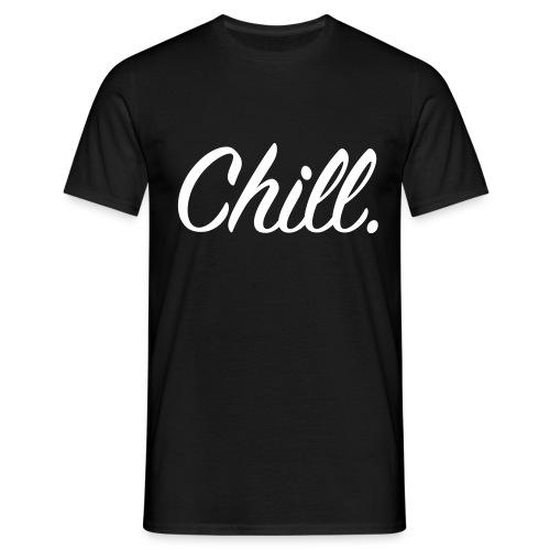 Chill_Black - Men's T-Shirt