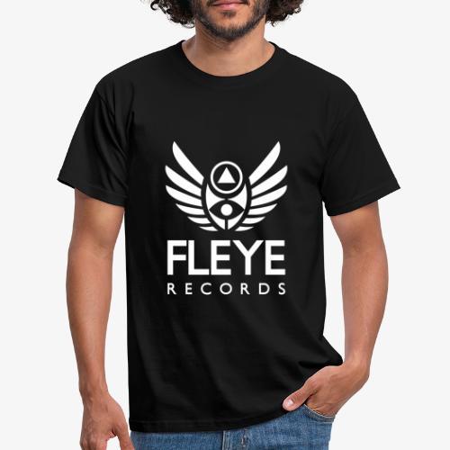 Fleye Records (White Logo Design) Tøj m.m. - Herre-T-shirt