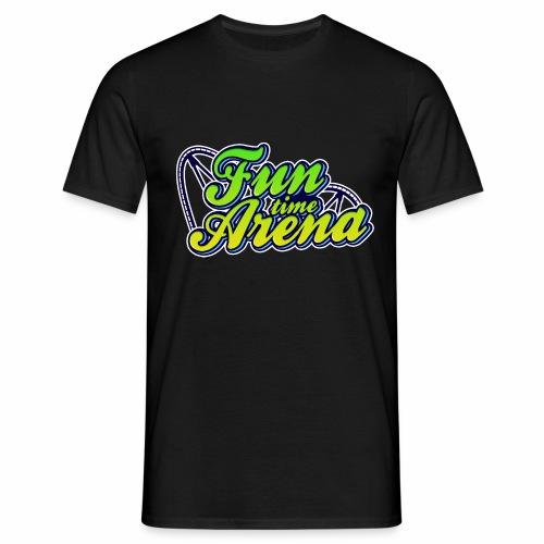 FunTime Schienen Front - Männer T-Shirt