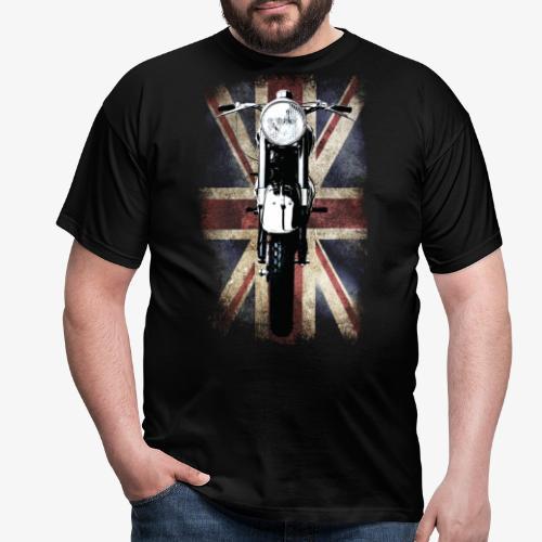 Vintage Motor Cycle BSA feature patjila - Men's T-Shirt