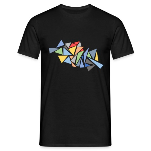 Modern Triangles - Men's T-Shirt