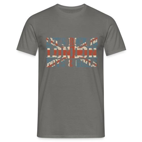 LET'S ROCK IN LONDON - Maglietta da uomo
