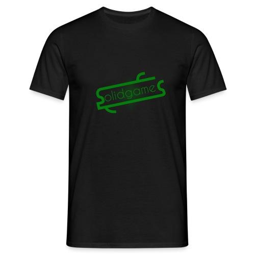 Solidgames Crewneck Grey - Men's T-Shirt