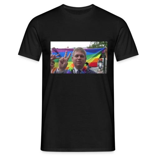 V for Sejr - Herre-T-shirt