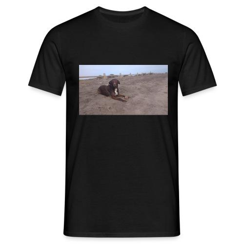 Chocolate en la playa - Camiseta hombre