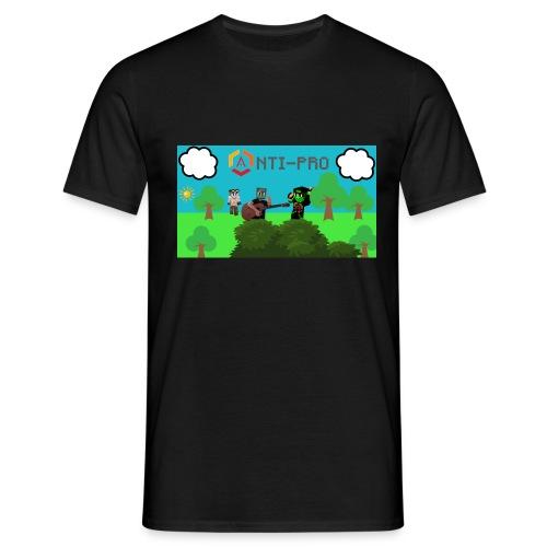 Maglietta Immagine Mario Anti-Pro - Maglietta da uomo