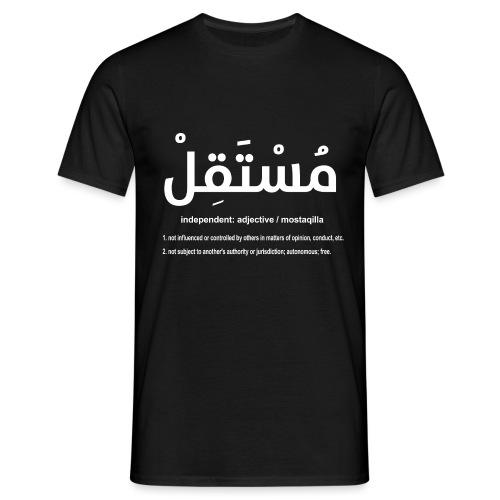 Mostaqilla definition for MEN - Men's T-Shirt