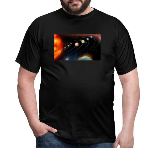 Solsystemet - Herre-T-shirt