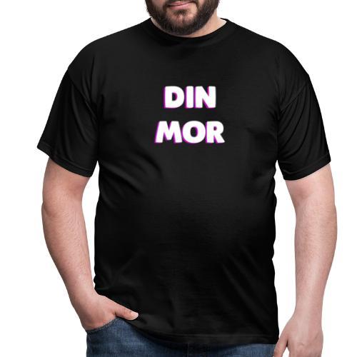 DIN MOR PINK - Herre-T-shirt