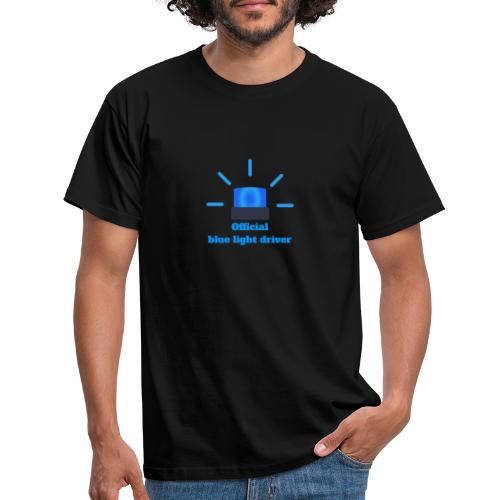 Blue light driver - Männer T-Shirt