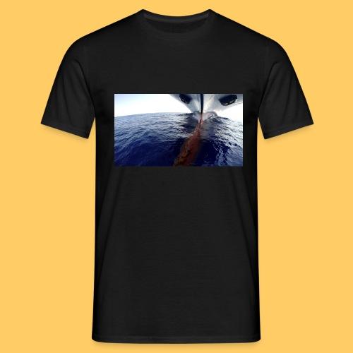 Frachtschiff Containerschiff - Männer T-Shirt