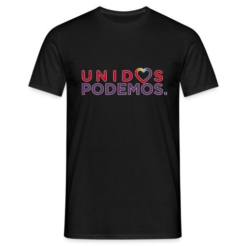 Taza Unidos Podemos 2016 Blanca - Camiseta hombre