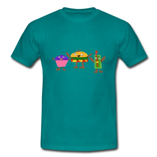 Fast food figures - Men's T-Shirt