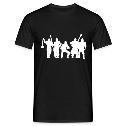 Jugger Schattenspieler weiss - Männer T-Shirt