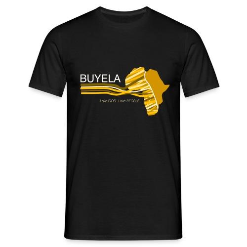Buyela Africa loops - Männer T-Shirt