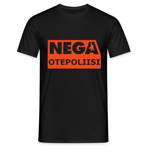 OtePoliisi pinssi iso - Miesten t-paita