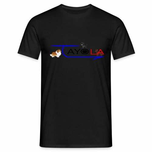 Tayola Black - T-shirt Homme