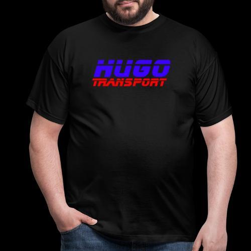 hugotransportfullrestransparent - Mannen T-shirt