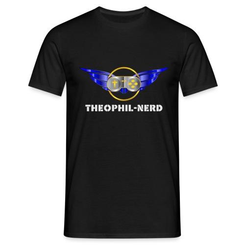 Theophil-Nerd - Das neue Logo für Nerds - Männer T-Shirt