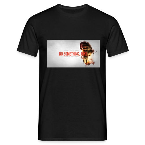dsj facebook banner jpg - Men's T-Shirt