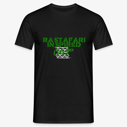 Inspired Rastafari - Men's T-Shirt