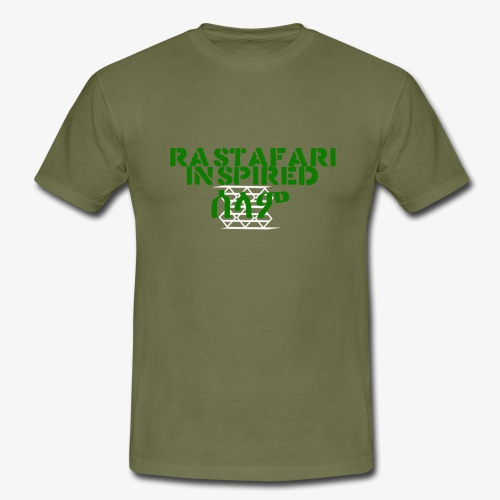 Inspired Rastafari - Men's T-Shirt
