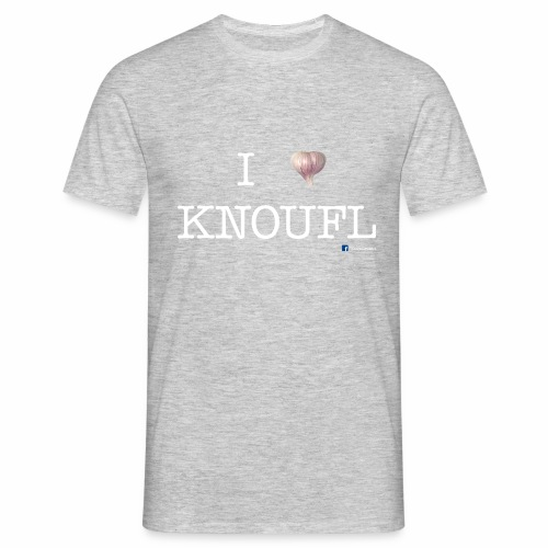i love knoufl white - Männer T-Shirt