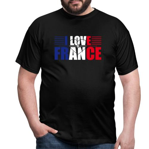 love france - T-shirt Homme
