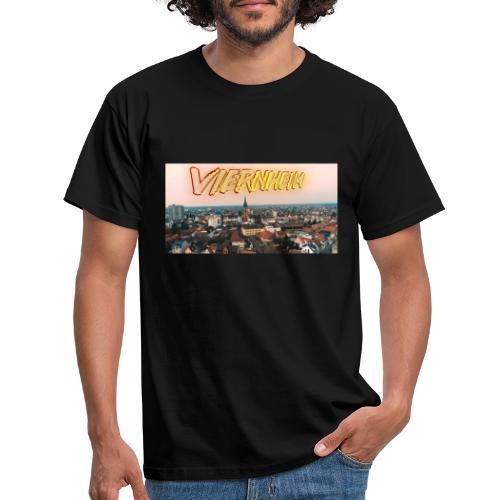 Viernheim Innenstadt - Männer T-Shirt