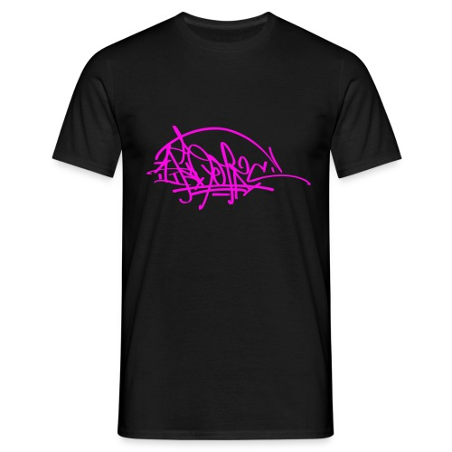 prc ikon rose tag - T-shirt Homme