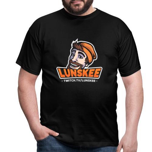Lunskee Mascot Logo - Mannen T-shirt
