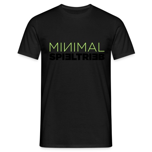 minimal spieltrieb - Männer T-Shirt