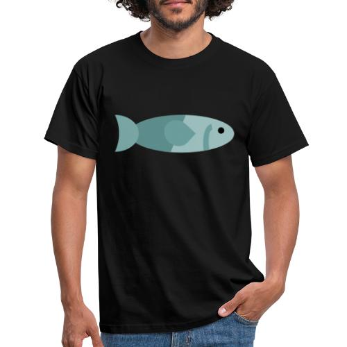 Fisch - Männer T-Shirt