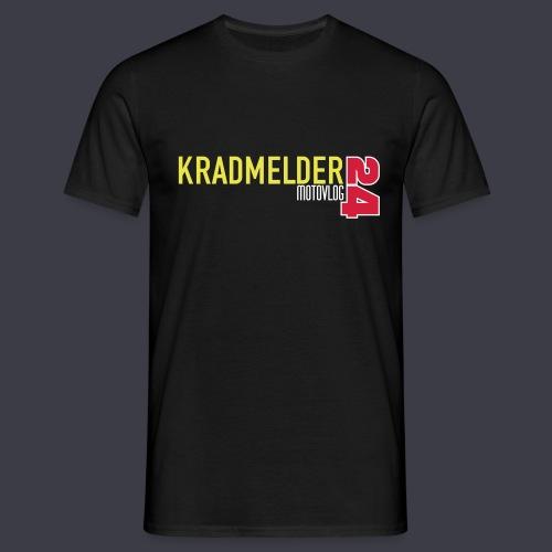 Kradmelder24 Motovlog classic - Männer T-Shirt