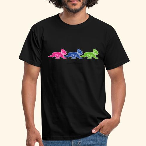 frenchies multicolor - T-shirt Homme