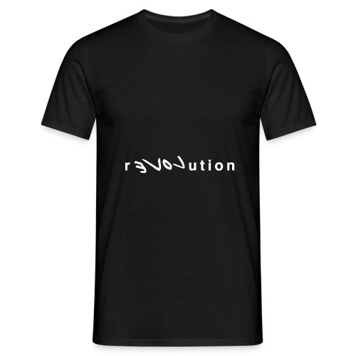 REVOLUTION - Mannen T-shirt