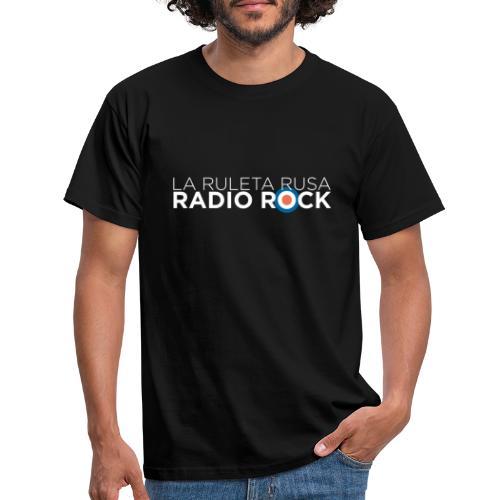 La Ruleta Rusa Radio Rock, Landscape White - Camiseta hombre