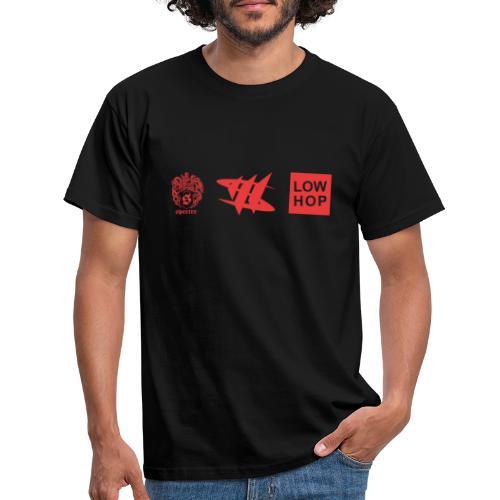 3 X Logo - Männer T-Shirt