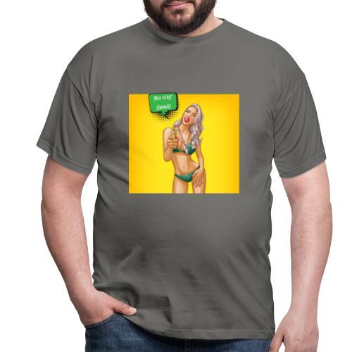 Mich Korbt Niemand T Shirt Design - Männer T-Shirt