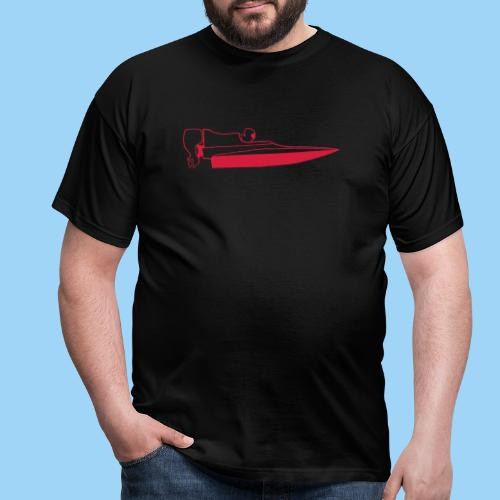 Powerboat GT30/GT15 Red - T-shirt herr