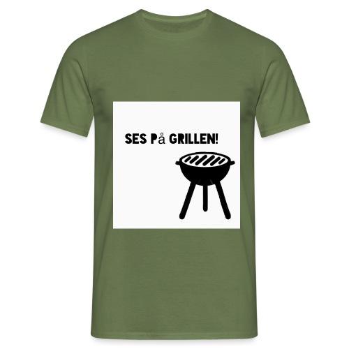 Ses på grillen - Herre-T-shirt